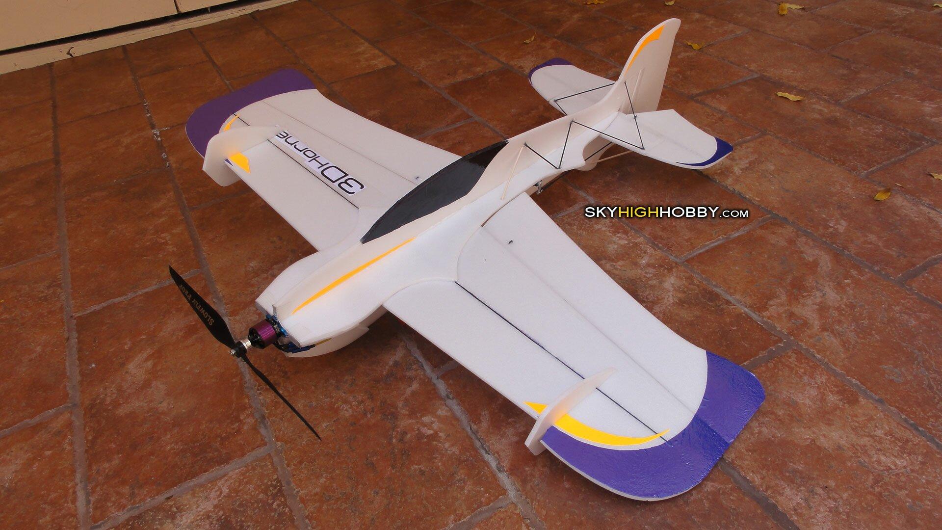 3d-hornet-electric-plane--foamie-depron-home-made-uzi-razorback-skua