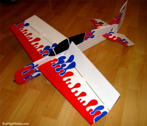 Yak 54 3D RC Plane Plans - Remote Control Planes Radio