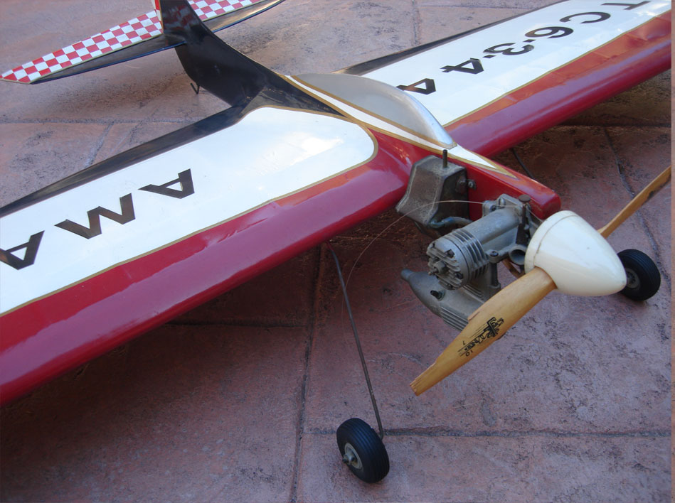 Flite Streak Control Line Profile Model Airplane