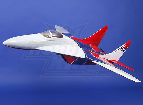 Mig-29 Composite RC Electric JET 2 x 68mm EDF 960mm ARF