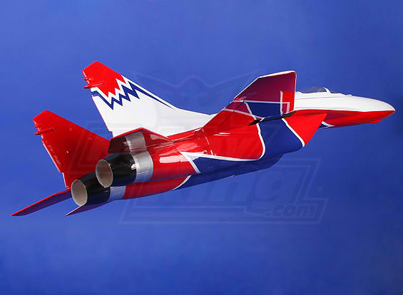 Mig-29 Composite RC Electric JET 2 x 68mm EDF 960mm