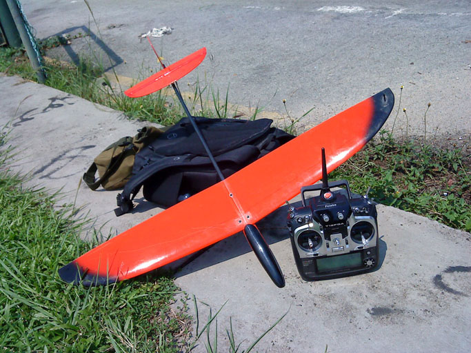 Binary 900 V2.0 micro Discus Launched Glider