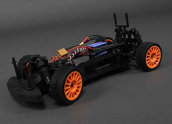 fast Brushless 4WD Mini Rally RC