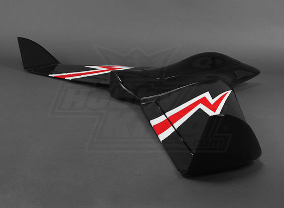 FPV Drone composite flying wing black