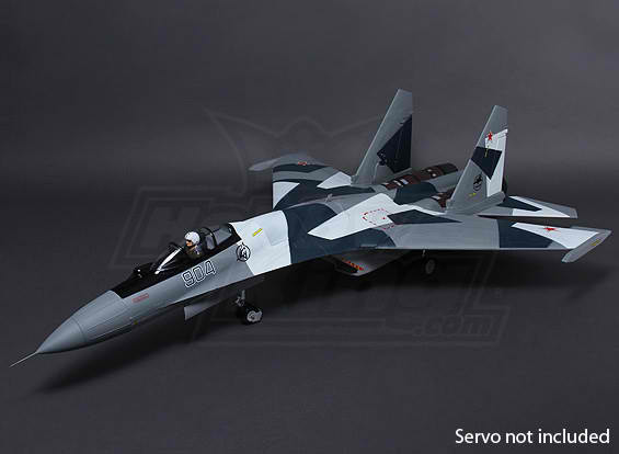Sukhoi SU-35 RC Jet  Twin Thrust Vectoring 1080mm 70mm radio control