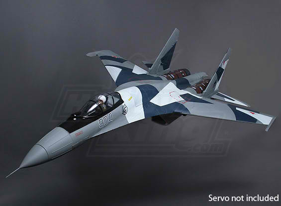 Sukhoi SU-35 RC Jet  Twin Thrust Vectoring 1080mm 70mm