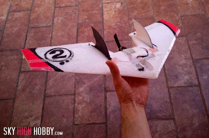 Micro Flying Wing the Flash Delta Worlds Smallest Flying RC Wing