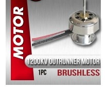 Affordable Brushless 1200 RC Motor