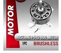 Affordable Mustang P51D 500 Brushless Motor