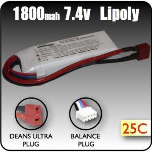 Duel Cell LiPoly battery