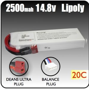 14.8 Volt RC LiPoly Battery