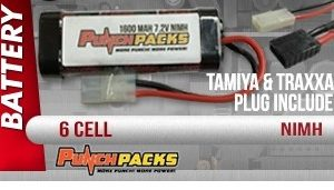 Punch pack R/C Battery