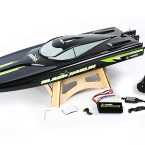The Black Marlin RC Race Boat