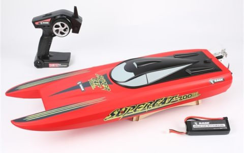Super Cat RC Boat