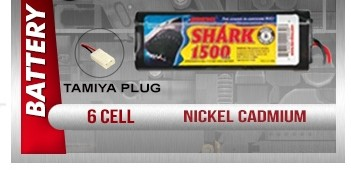 Shark RC Battery