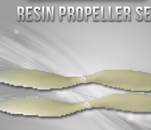 Resin Propeller Set For Daredevil & Edge Brushless Version