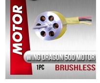 Remove term: Wing Dragon 500 Class Brushless Motor Wing Dragon 500 Class Brushless Motor