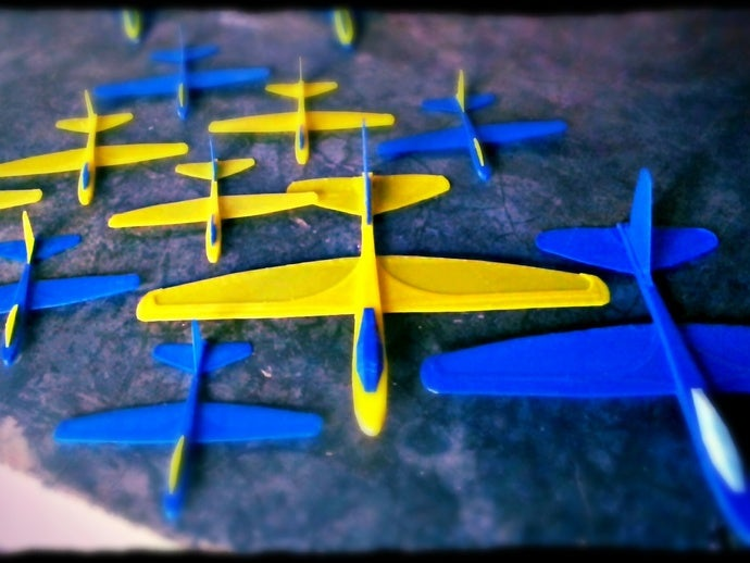 3D RC Glider Templates